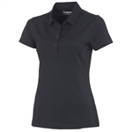 Sunice Jacqueline Coollite Golf Polo - Black