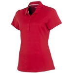 Sunice Jacqueline Coollite Golf Polo - Cherry