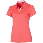 Sunice Jacqueline Cooliite Golf Polo - Diva Pink