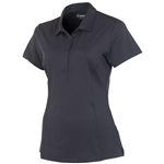 Sunice Jacqueline Coollite Golf Polo - Charcoal