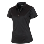Sunice Chloe X-Static Classic Golf Polo - Black