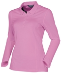Sunice Kaylee Coollite Long Sleeve Polo - Precious Purple