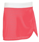 Sunice Silver Luna Golf Skort with Perforated Overlay