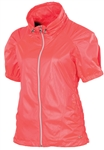 SUNICE Sophia Short Sleeve Wind Jacket Diva Pink