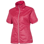 Sunice Golf Brittany Short Sleeve Wind Jacket Bright Rose