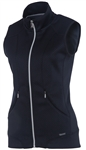 SUNICE Candy Thermal Power Stretch Lined Full Zip Vest Black