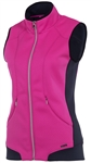 SUNICE Candy Thermal Power Stretch Lined Full Zip Vest Pink