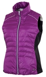Sunice Finley Down Vest Lotus/Deep Purple