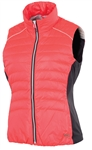 Sunice Finley Down Vest Diva Pink/Charcoal