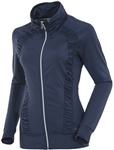Sunice Ivory Lightweight Full Zip Stretch Jacket Charcoal