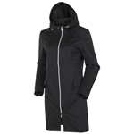Sunice Cassie X20 Water Resistant Softshell Car Coat - Black
