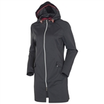 Sunice Cassie X20 Water Resistant Softshell Car Coat - Charcoal
