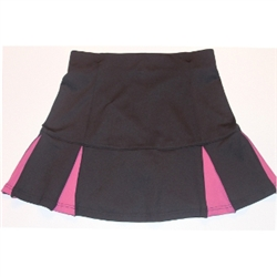 Smashing Trudy Black & Pink Golf Skort