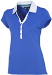 Tommy Hilfiger Golf Meryl Poly Polo Amparo Blue