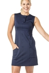 VK Sport Old Hollywood Golf Dress - Navy