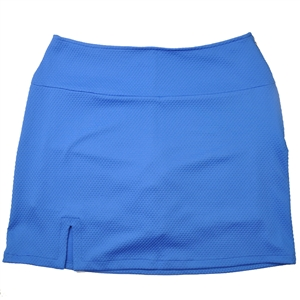 Wear To Win Diamond Textured Blue Jay Skort
