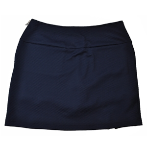 Wear To Win Diamond Textured Navy Skort