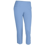 Adidas Essentials Puremotion Cropped Golf Pant - Bahia Blue