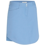 Adidas Essentials 3-Stripe Golf Skort Bahia Blue
