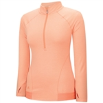 Adidas Advance Rangewear ½  Zip Pullover - Flash Orange