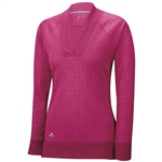 Adidas Wind Fleece Pullover- Bold Pink