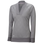Adidas Wind Fleece Pullover- Solid Grey
