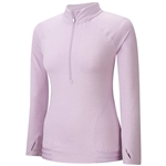 Adidas Advance Rangewear ½  Zip Pullover - Light Orchid