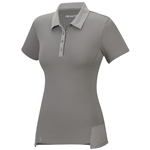 Adidas Climachill Tour Short Sleeve Polo- Solid Grey