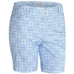 Adidas Essentials Printed Short Bahia Blue