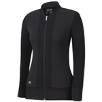 Adidas Advance Quilted Bomber Jacket- Black