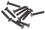 Axial Hex Socket Flat Head M3x16mm Black (10)