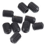Axial EXO M3x4mm Set Screw (Black) (10pcs)