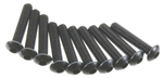 Axial M3x15mm Hex Socket Button Head (Black) (10pcs)