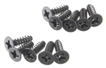 Axial Tapping Flat Head M3x10mm Black (10)
