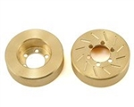 Beef Tubes BEEF PATTIES Scale Brake Rotors/Weights (INCISION) - Brass (2)