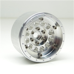 Gear Head RC 2.2 CAC EZ-Loc Beadlock Wheels, Aluminum (4)