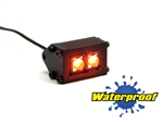 Gear Head RC 1/10 Scale Trail Pod LED Light Bar - Amber (1)