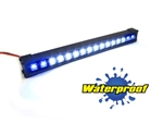 "Gear Head RC 1/10 Scale Trek Torch 5"" LED Light Bar - White and Blue"