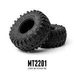 "Gmade MT2201 2.2"" Off-Road Tires for Crawlers and Scale Rigs (1 pair)"
