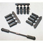 RPM Rod Ends,Heavy Duty 4-40 (12, Black)