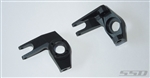 SSD RC Pro Aluminum Knuckles for SCX10 (Black)