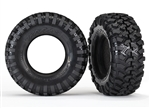 Traxxas Tires, Canyon Trail 1.9/ foam inserts (2)