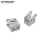 Vanquish Products Axial AR60 Axle Shock Link Mounts Clear Anodized