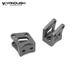 Vanquish Products Axial AR60 Axle Shock Link Mounts Grey Anodized