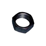"1/4"" Aluminum Jam Nut.  Left Hand..  Black."