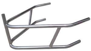 XXX Sprint Car Rear Bumper With Post. 4130 Chromoly. Plated.