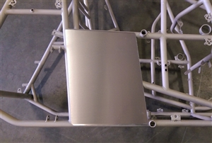 Sprint Car Right Rear Enclosure Panel