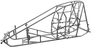 "XXX Non-Wing Sprint Car Chassis.  2"" Tall Wedge."