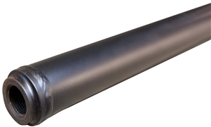 "XXX Sprint Car Steering Rod (Drag Link/Tie Rod).  4130 Chromoly.  46"" To 51"".  Black."