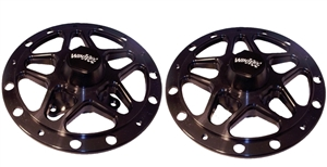 Winters Sprint Car Front Hub Kit (Left and Right).  Aluminum.  Direct Mount.